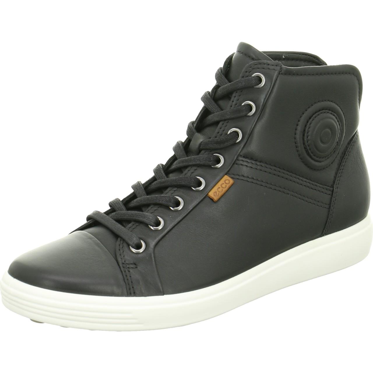 Ecco Sneaker schwarz Soft 7 Ladies schwarz