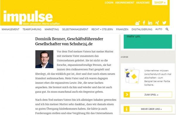Impulse-Beitrag-Schueh24