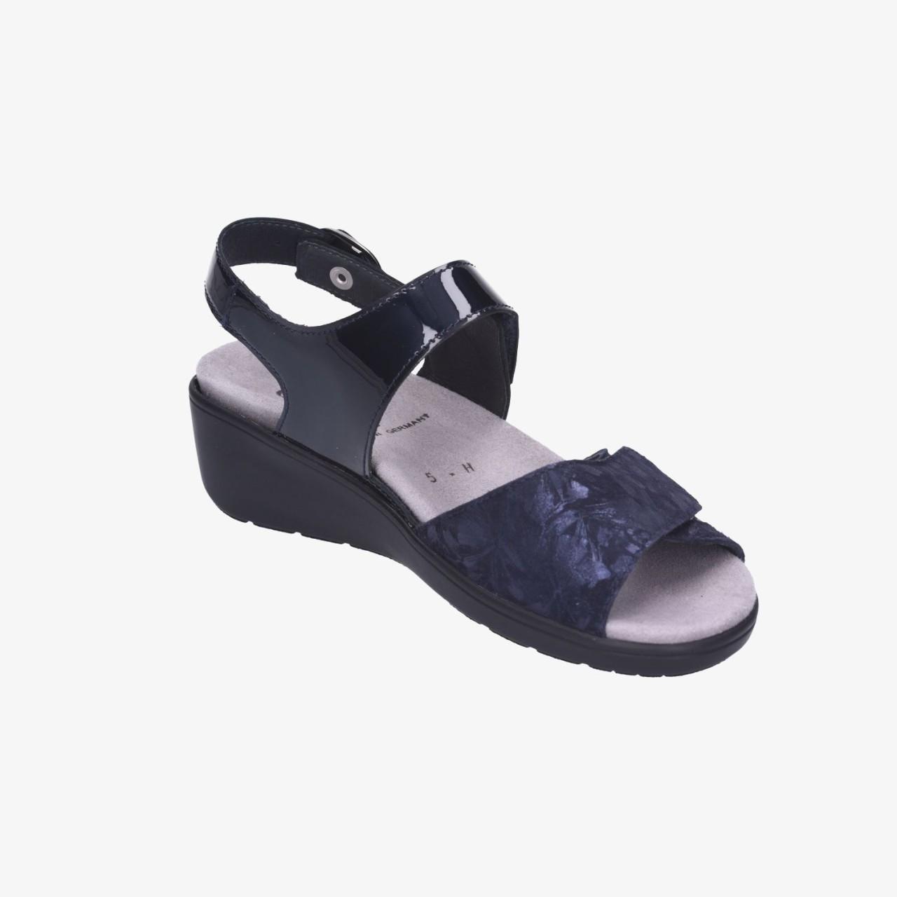Ramona Semler Semler Komfort blau blau Sandalen Sandalen blau Komfort Bq1Zrw0qA