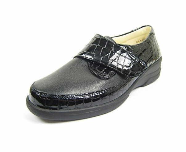 Solidus Komfort Slipper schwarz Hedda schwarz
