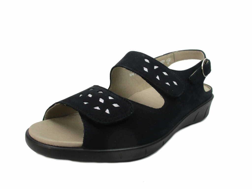 Solidus Komfort Sandalen blau Happy blau
