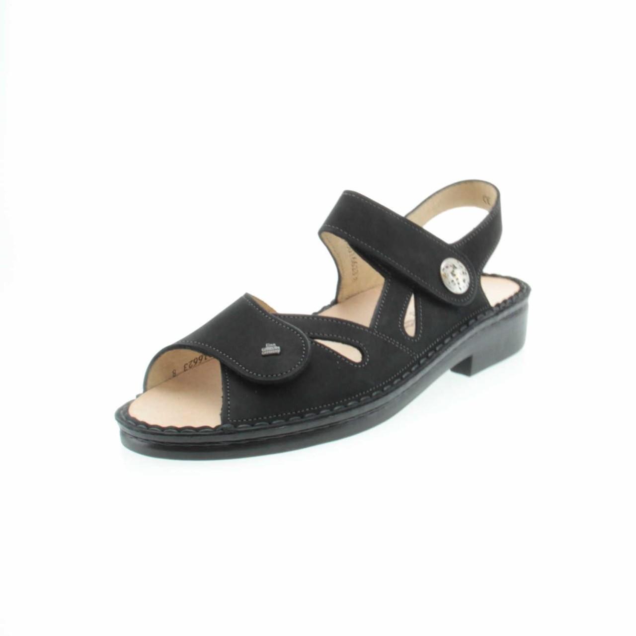 Finn Comfort Klassische Sandalen schwarz schwarz schwarz