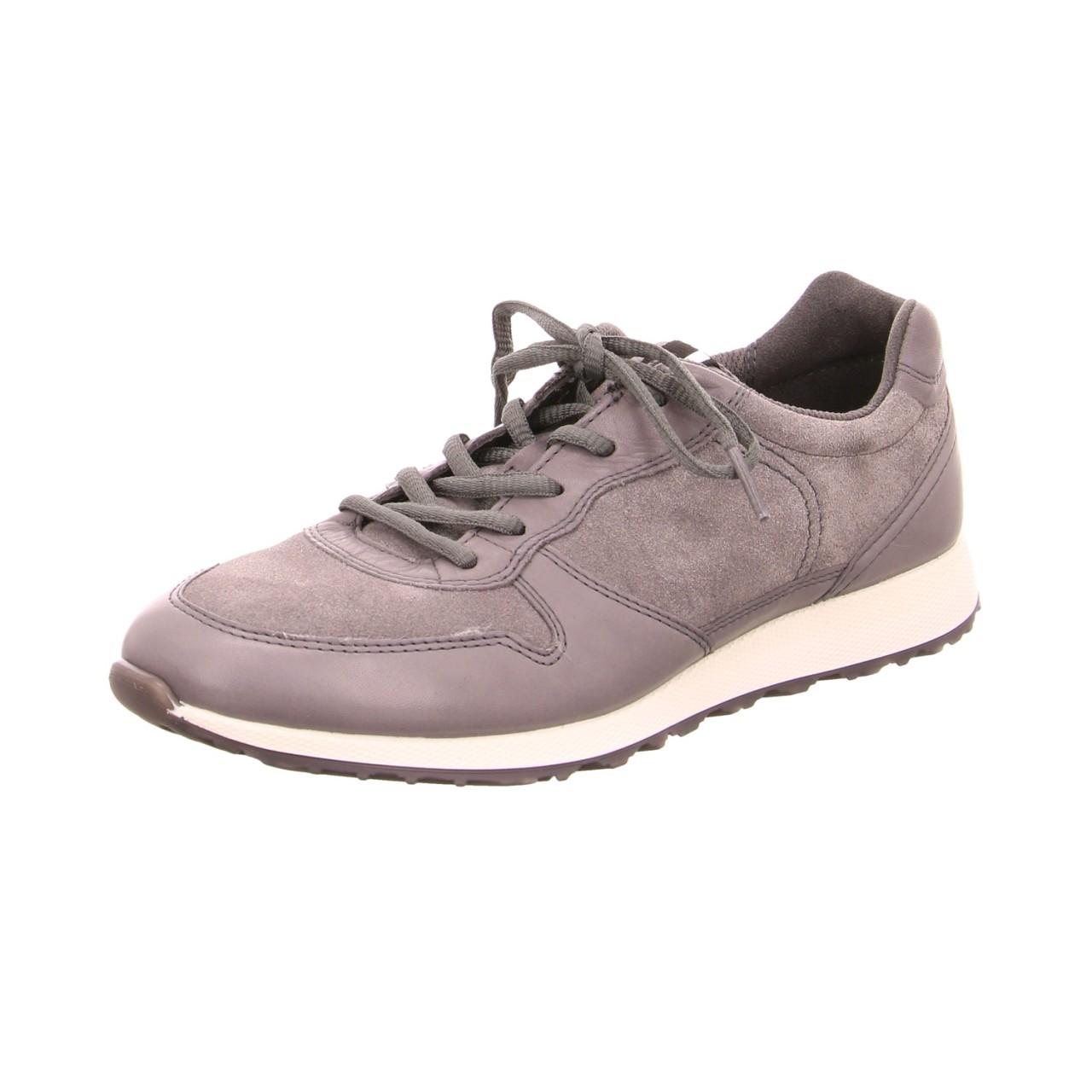 Ecco Sneaker grau grau