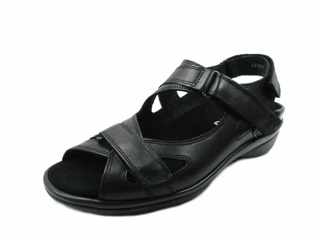 Durea Klassische Sandalen schwarz schwarz