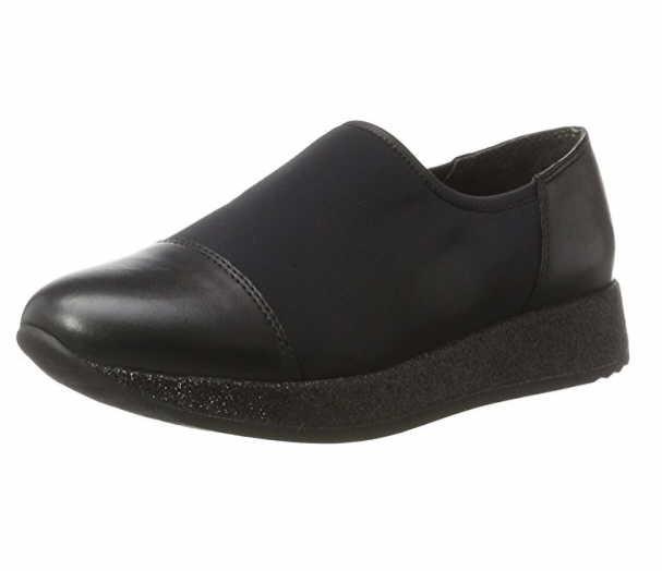 Gabor Slipper schwarz schwarz