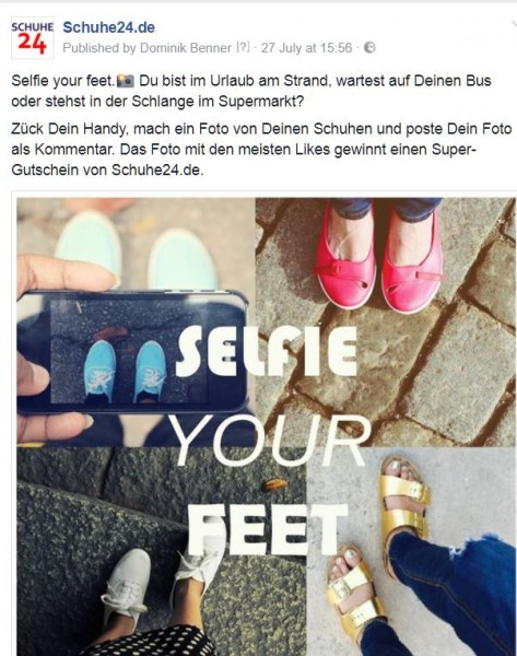 Selfie-your-feet