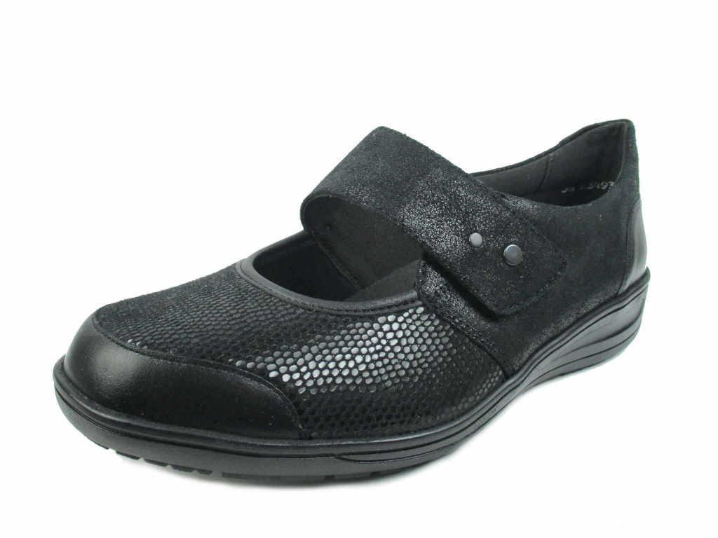 Solidus Komfort Slipper schwarz Kate schwarz