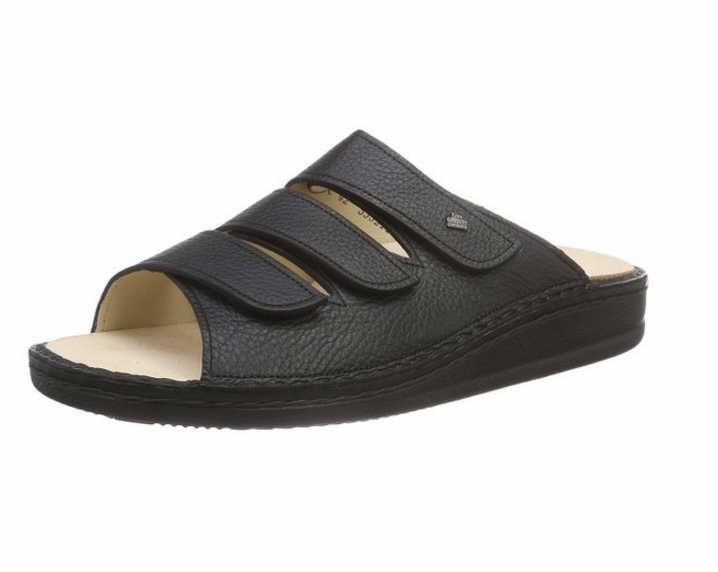 Finn Comfort Pantoletten schwarz schwarz