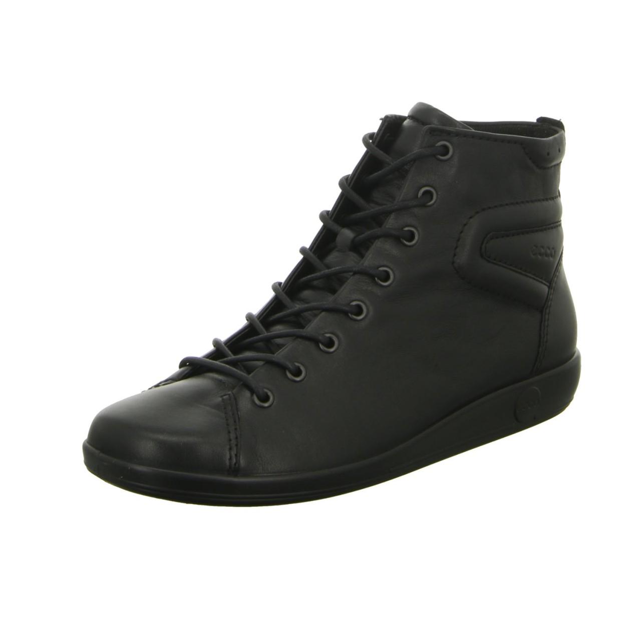 Ecco Sneaker & Schn眉rer schwarz schwarz
