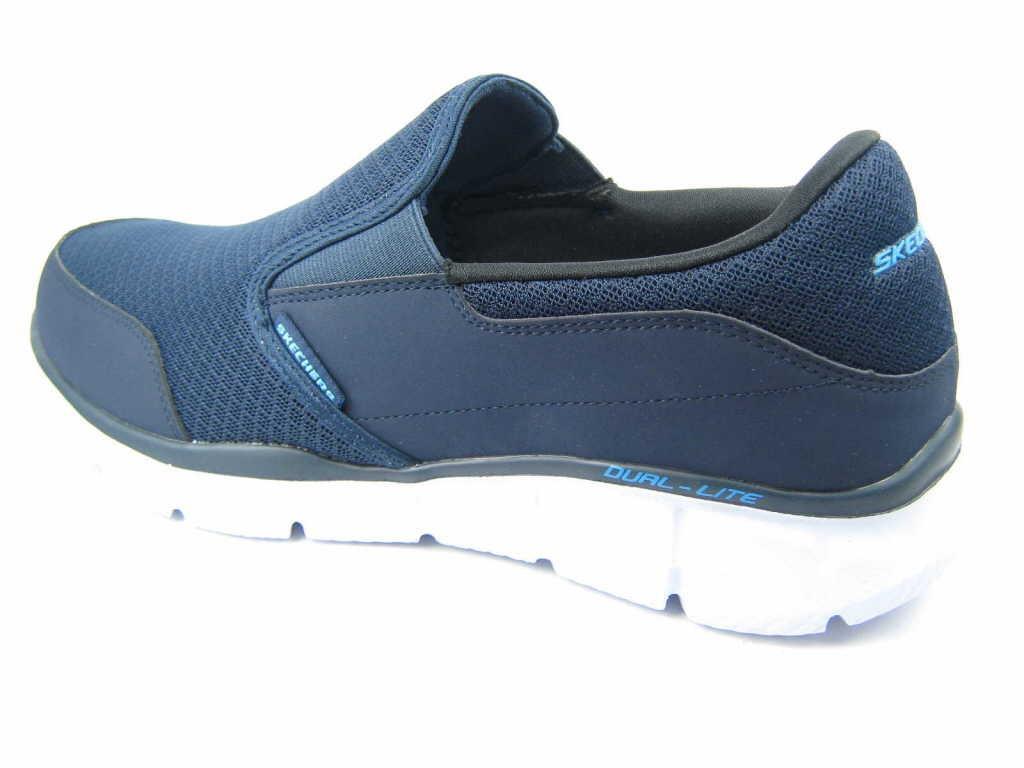 Skechers Sportliche Slipper blau blau
