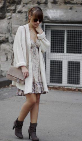 stiefel-Sommerkleid