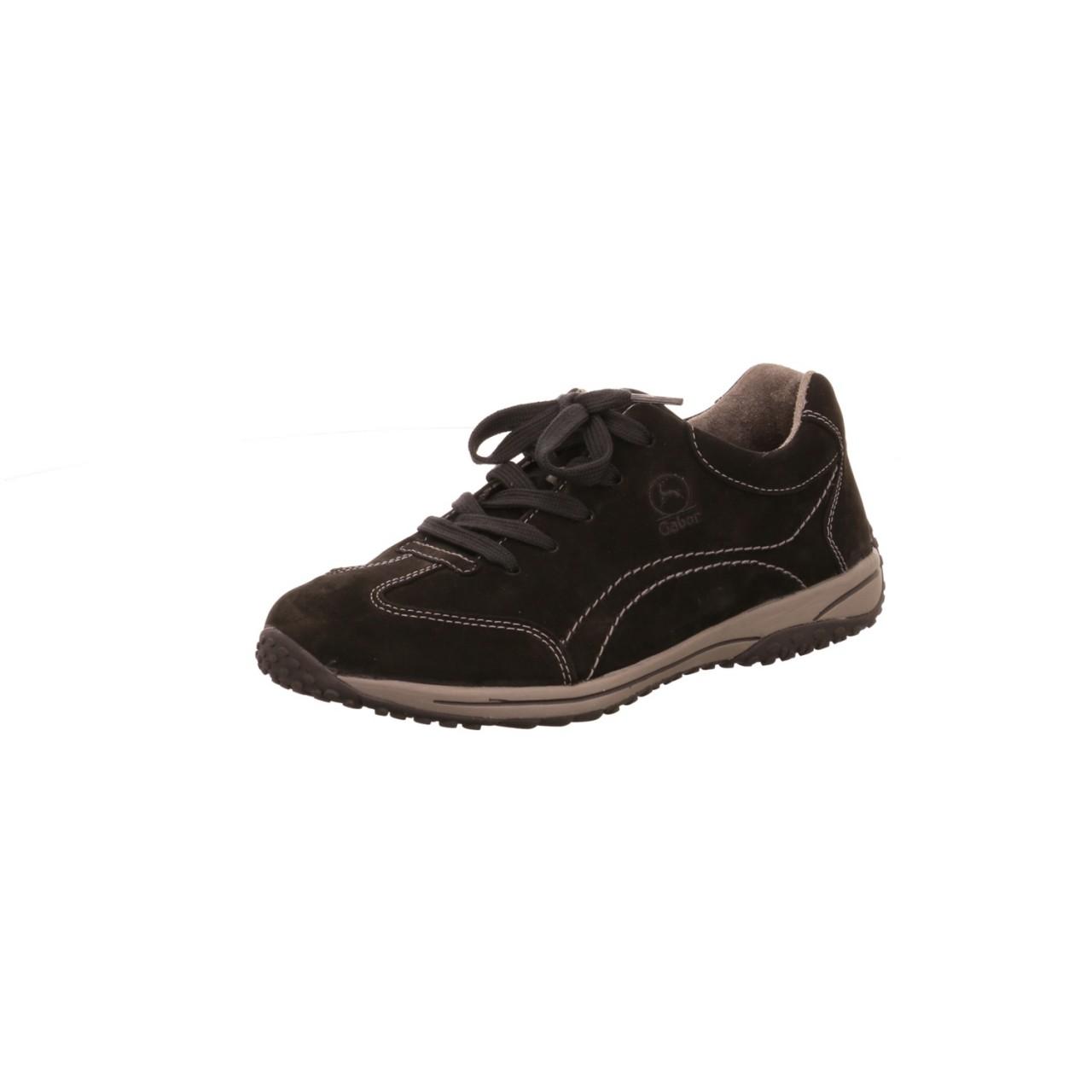 Gabor Sneaker schwarz schwarz